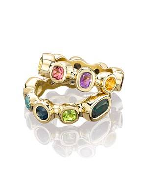 Mixed Gemstone Rings